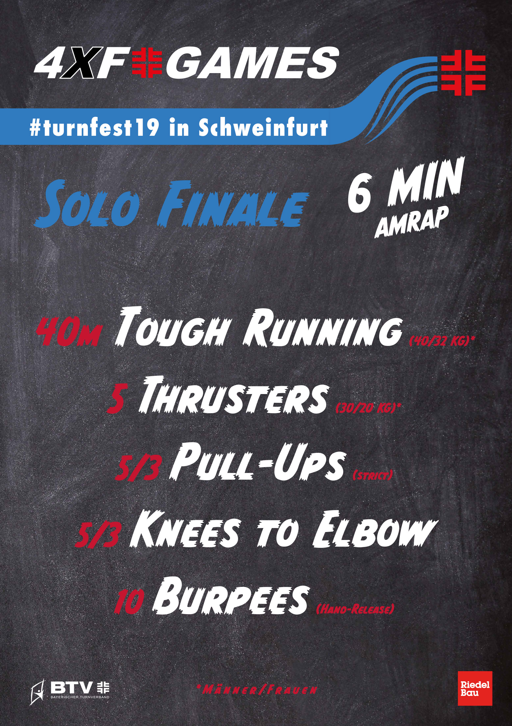 4xf games turnfest19 wod solo finals