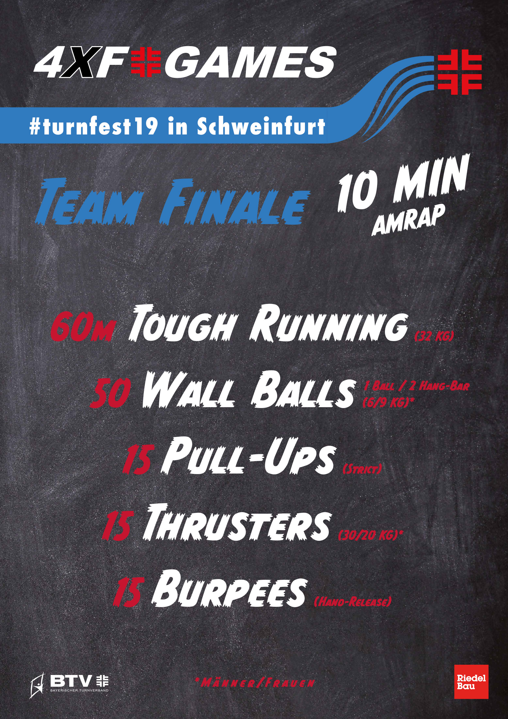 4xf games turnfest19 wod team finals